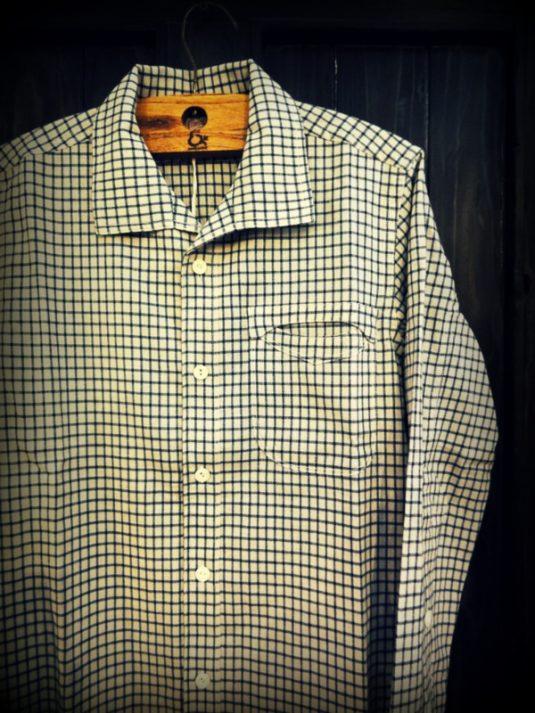 GNARLY NITEKLUB N Indigo Linen Shirt