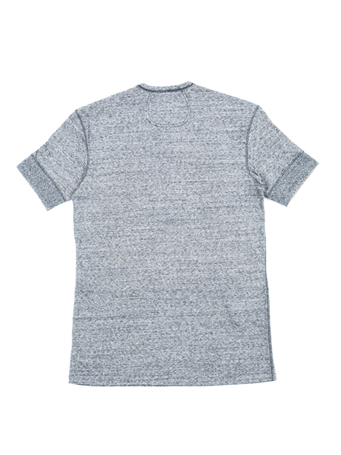 GNARLY COOTIE Jacquard Dot Henley Neck Tee