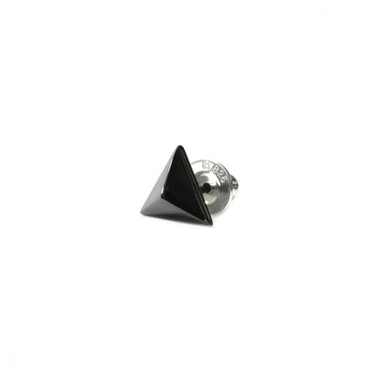 GNARLY GALLERY Triangle Studs Pierce Lilac