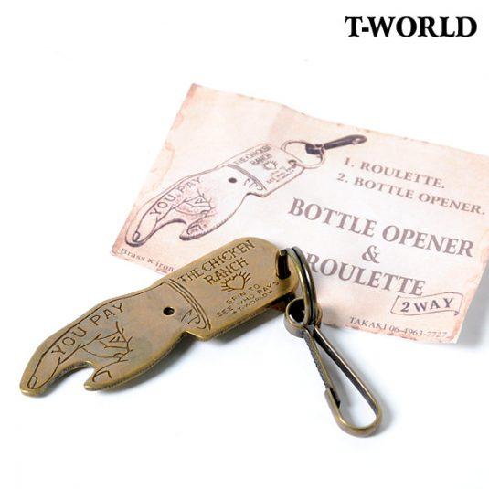 T-WORLD(ティーワールド)BOTTLE OPENER&ROULETTE