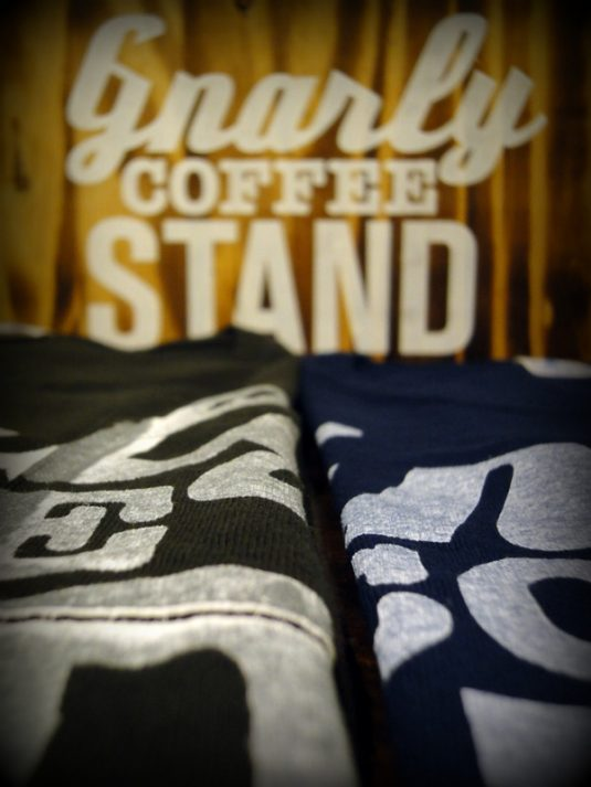 "ORIGINAL""gnarly COFFEE STAND""TEE"