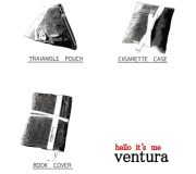 """ミリタリーファブリックを用いたリメイクアイテムの """"ventura"""""""
