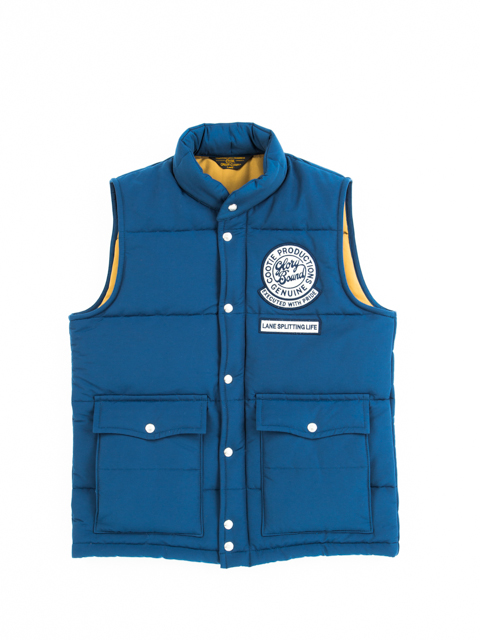 COOTIE Padded Trucker Vest GNARLY