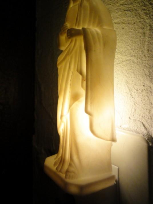 """NIGHT LIGHT """"Jesus"""" or """"Mary"""" GNARLY"""