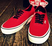 Vans AUTHENTIC ChiliPepper×Black
