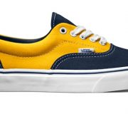 "VANS(バンズ) ERA ""GOLDEN COAST"" Dress Blues×Spectre Yellow"