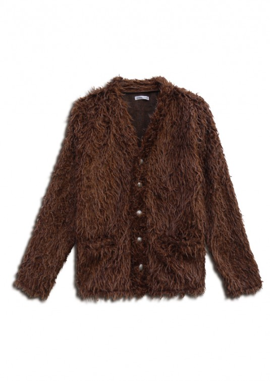 Twist Fur Cardigan
