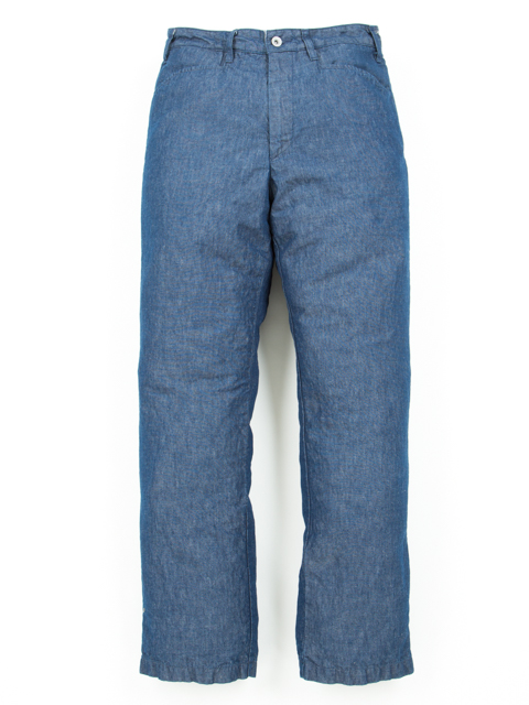 Chambray Loose Fit Work Trousers