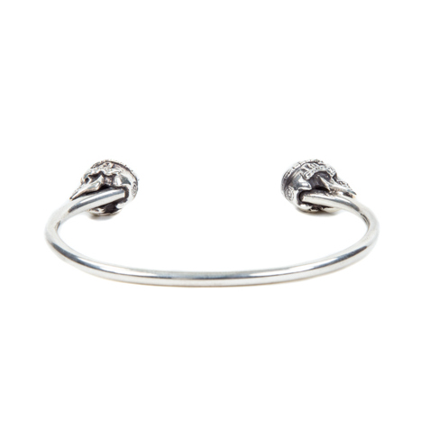 Tibetan Monk Skull Bangle (Magical Design)