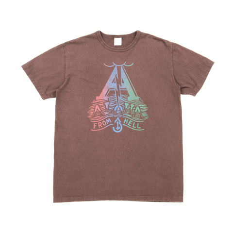 Vintage Print S/S Tee (ALOHA FROM HELL)