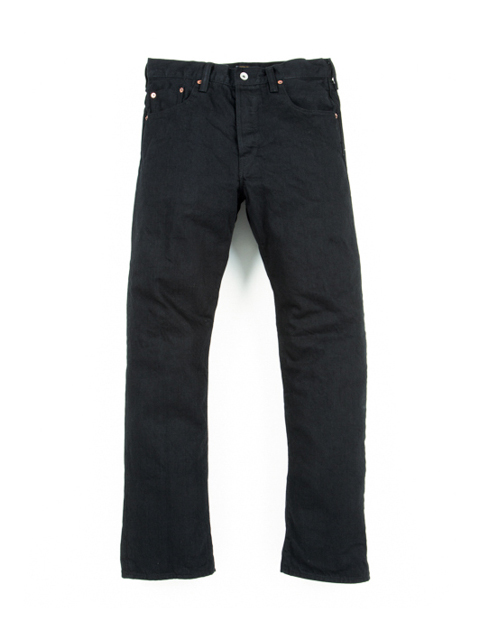5 Pocket Denim (1 Wash)-Black