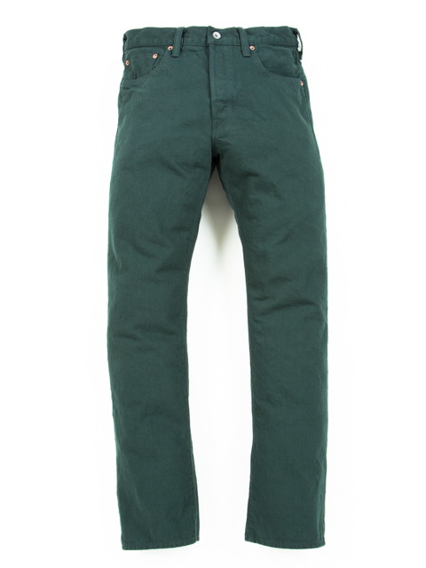 5 Pocket Color Denim (1 Wash)