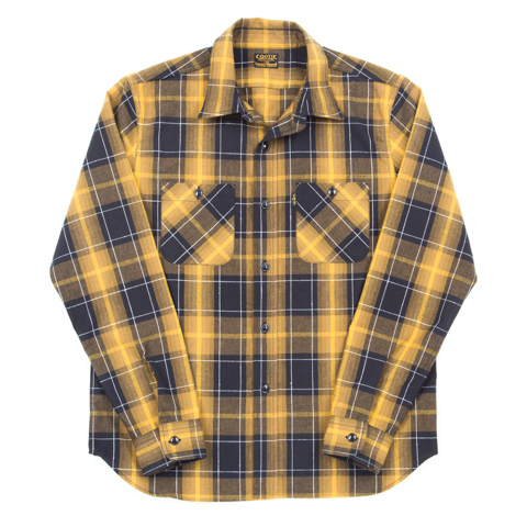 T/C Ombre Check L/S Work Shirt