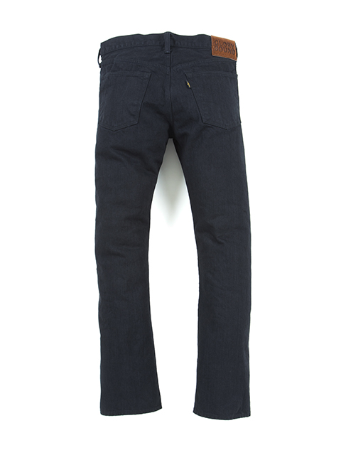 5 Pocket Tight Fit Denim (1 Wash)-Black