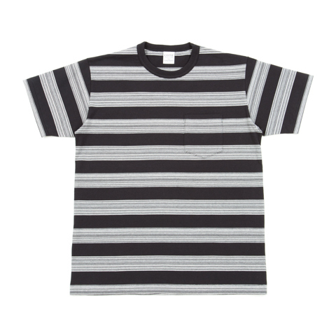 Panel Shadow Border S/S Pocket Tee