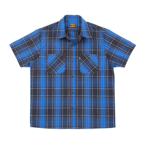 T/C Ombre Check S/S Work Shirt