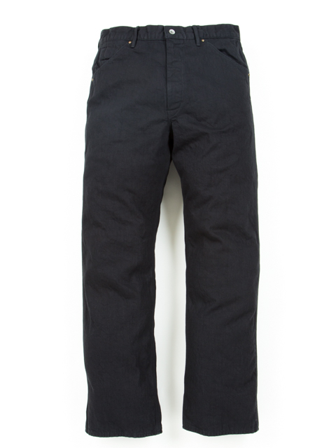 Junkman Work Denim-Black