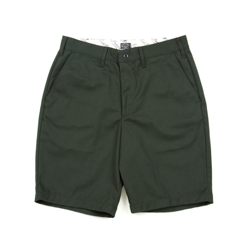 T/C Work Shorts-Green
