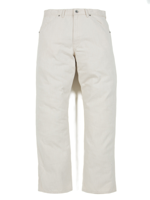 Junkman Work Denim-Ivory