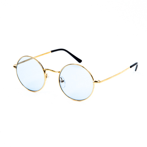 Round Metal Glasses