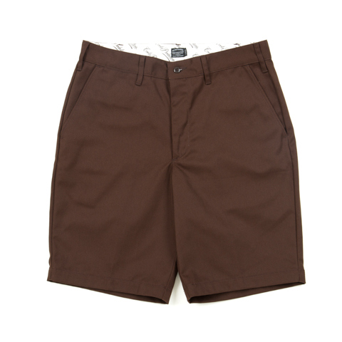 T/C Work Shorts-Brown