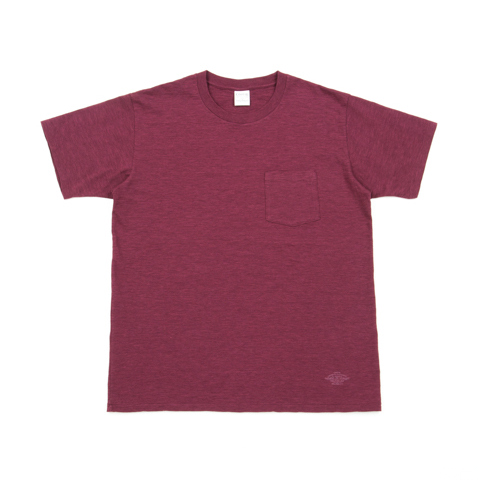 Marble Slab Crewneck S/S Pocket Tee