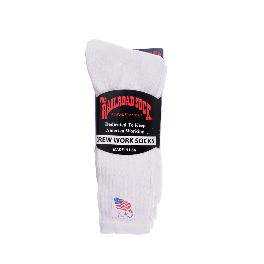 The Railroad SOCK(3pcs)-White-