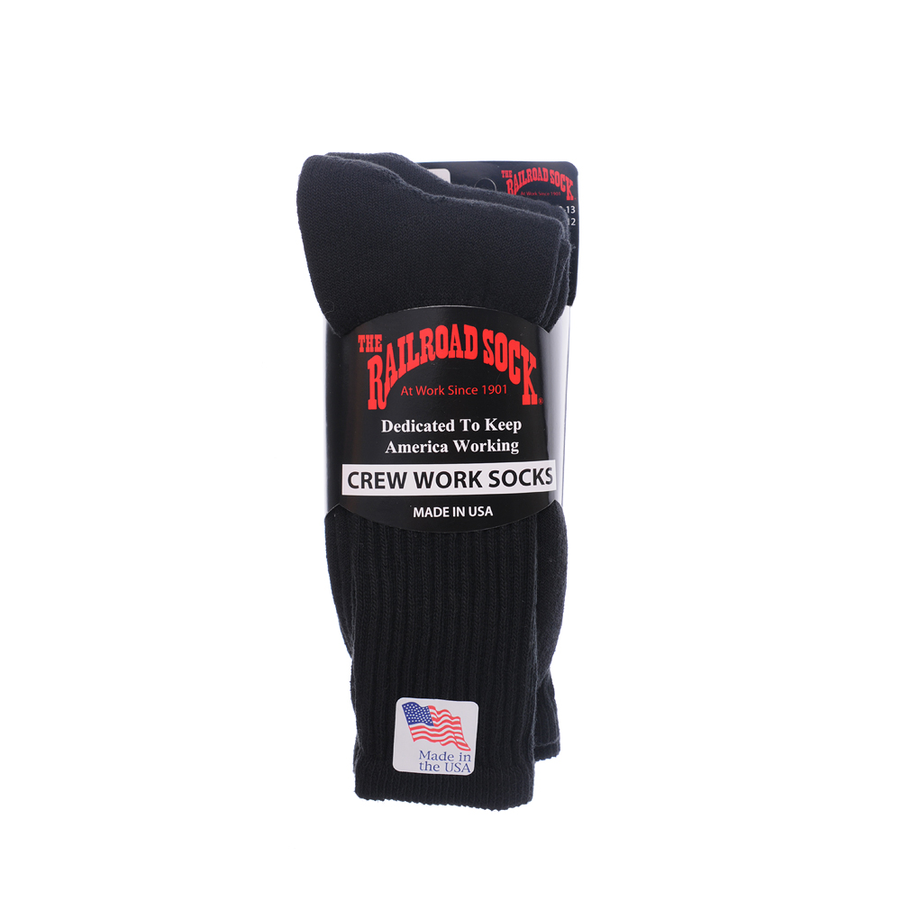 The Railroad SOCK -3pcs- (Black)