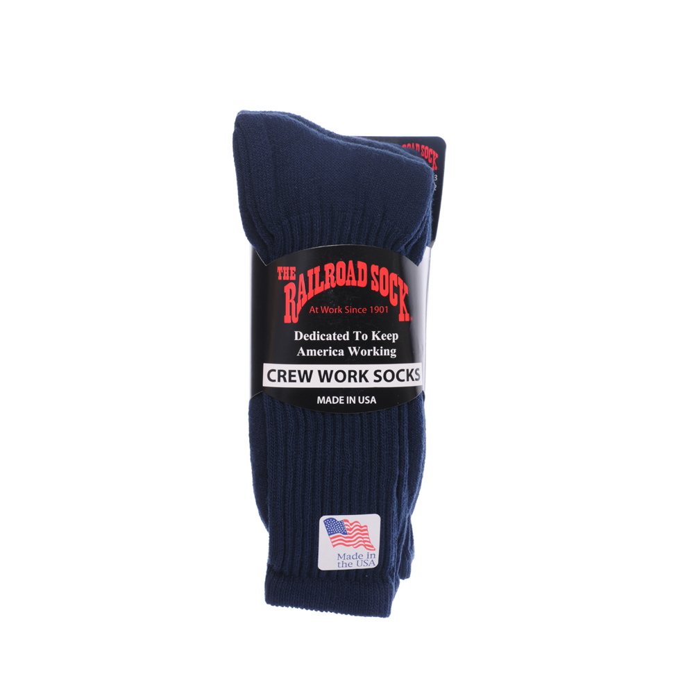 The Railroad SOCK -3pcs- (Navy)