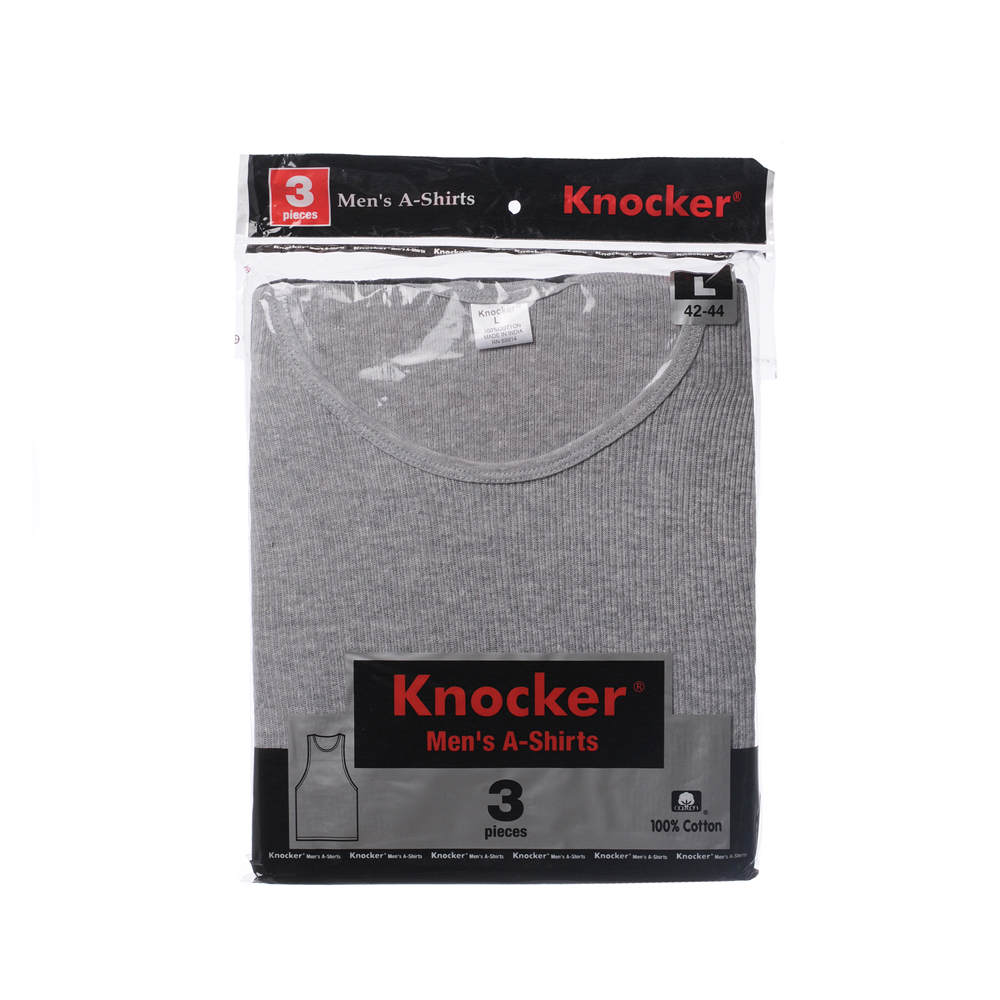 Knocker TANKTOP(3pcs)-Black-