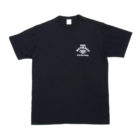 Print S/S Tee (DEATH TAKES A HOLIDAY)