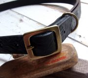 Bandit Leather Narrow Belt (Rose)