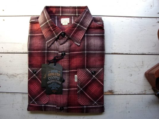 Printed Ombre Check L/S Work Shirt