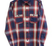 Indigo Check Work Shirt.