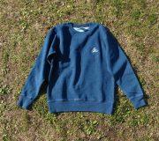 Denim Crewneck L/S Sweatshirt[Swallow]