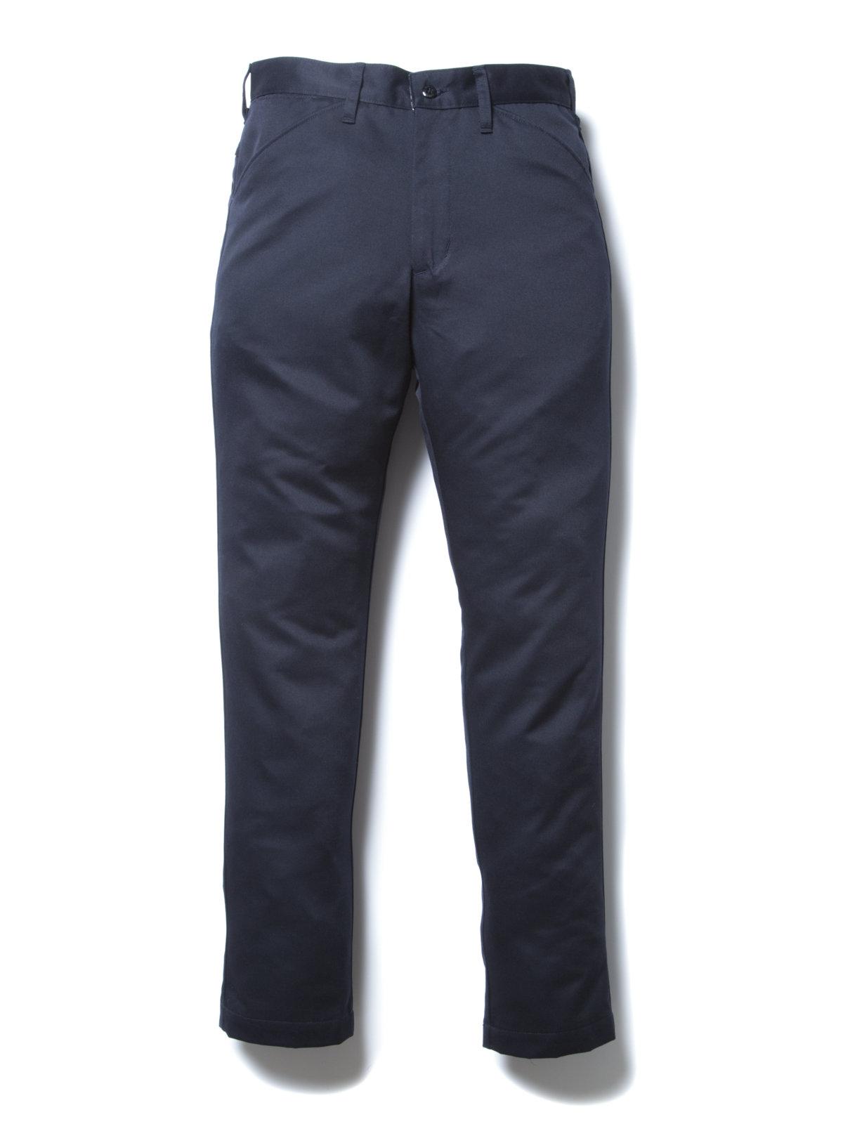 Slim Fit Work Trousers-DK Navy-
