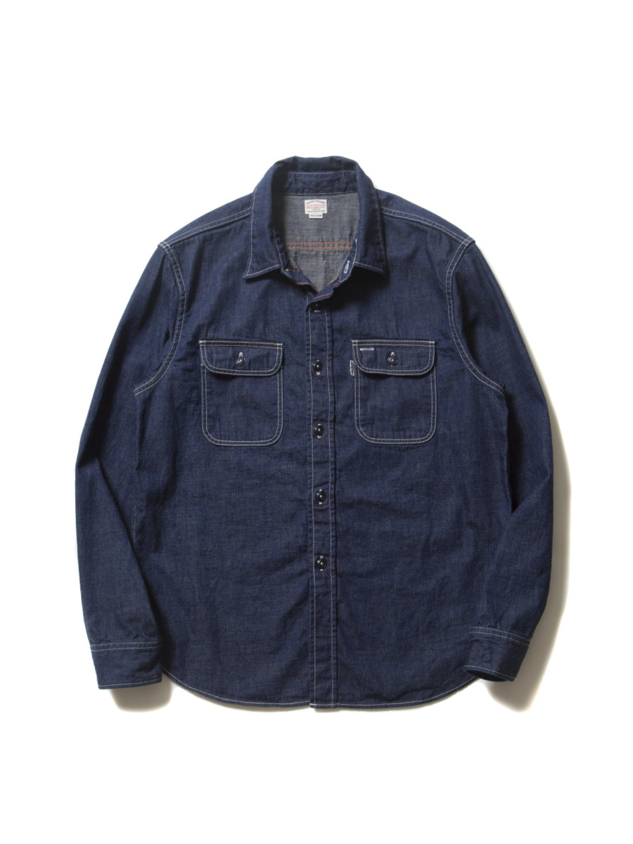 Denim L/S Work Shirt-1Wash-