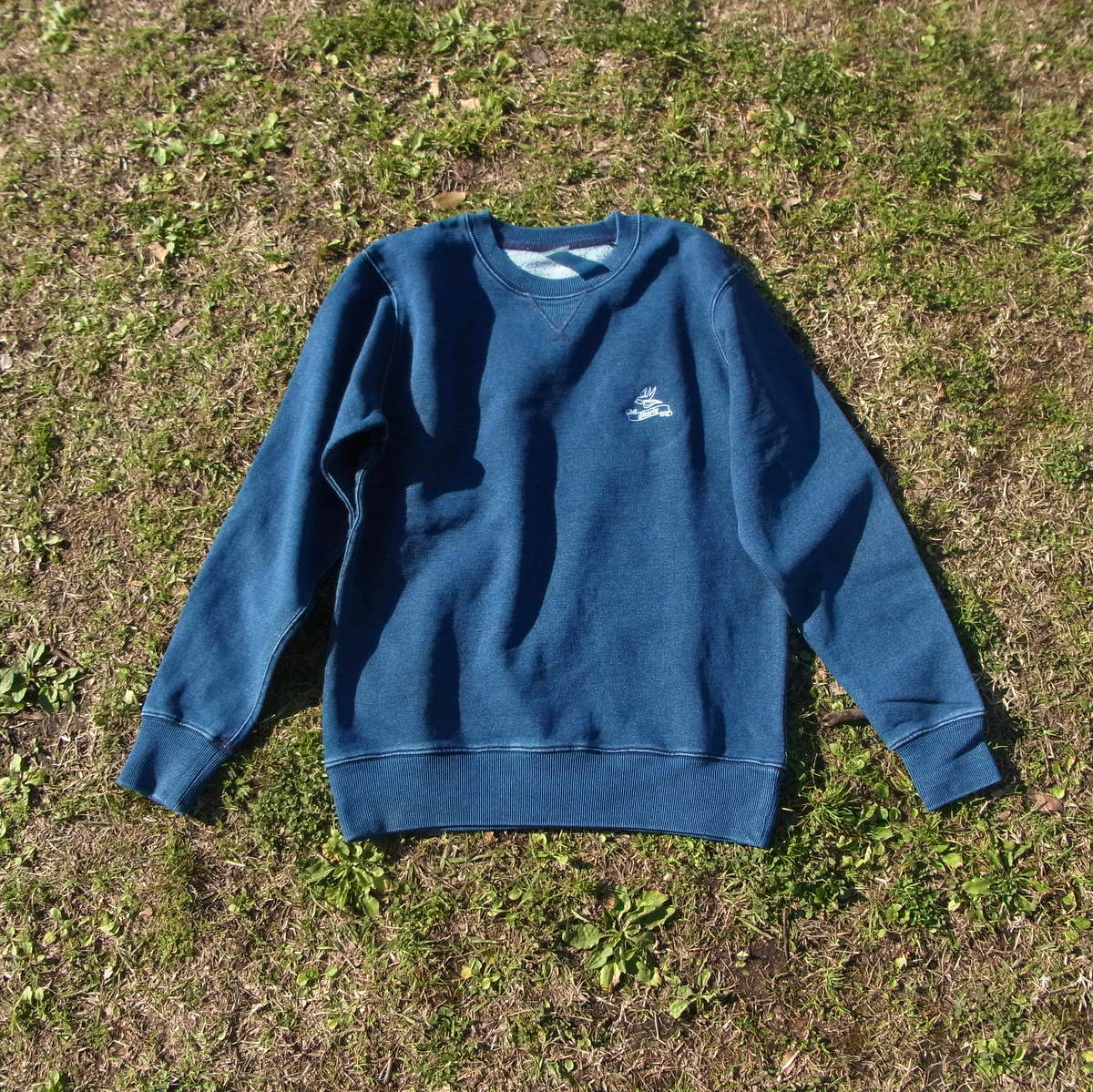 Denim Crewneck L/S Sweatshirt