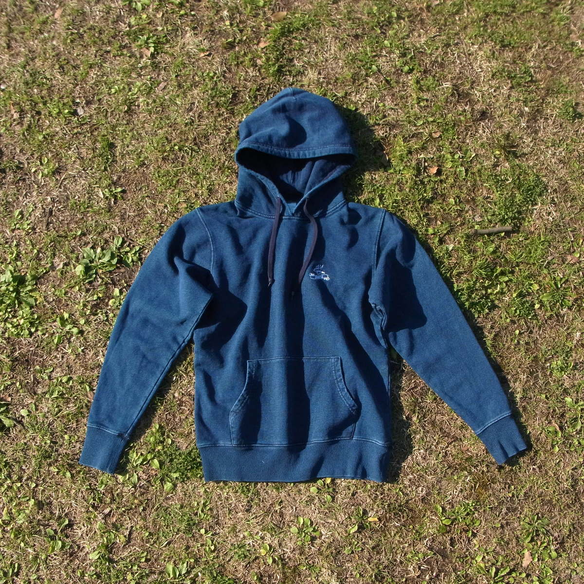 Denim Sweatparka