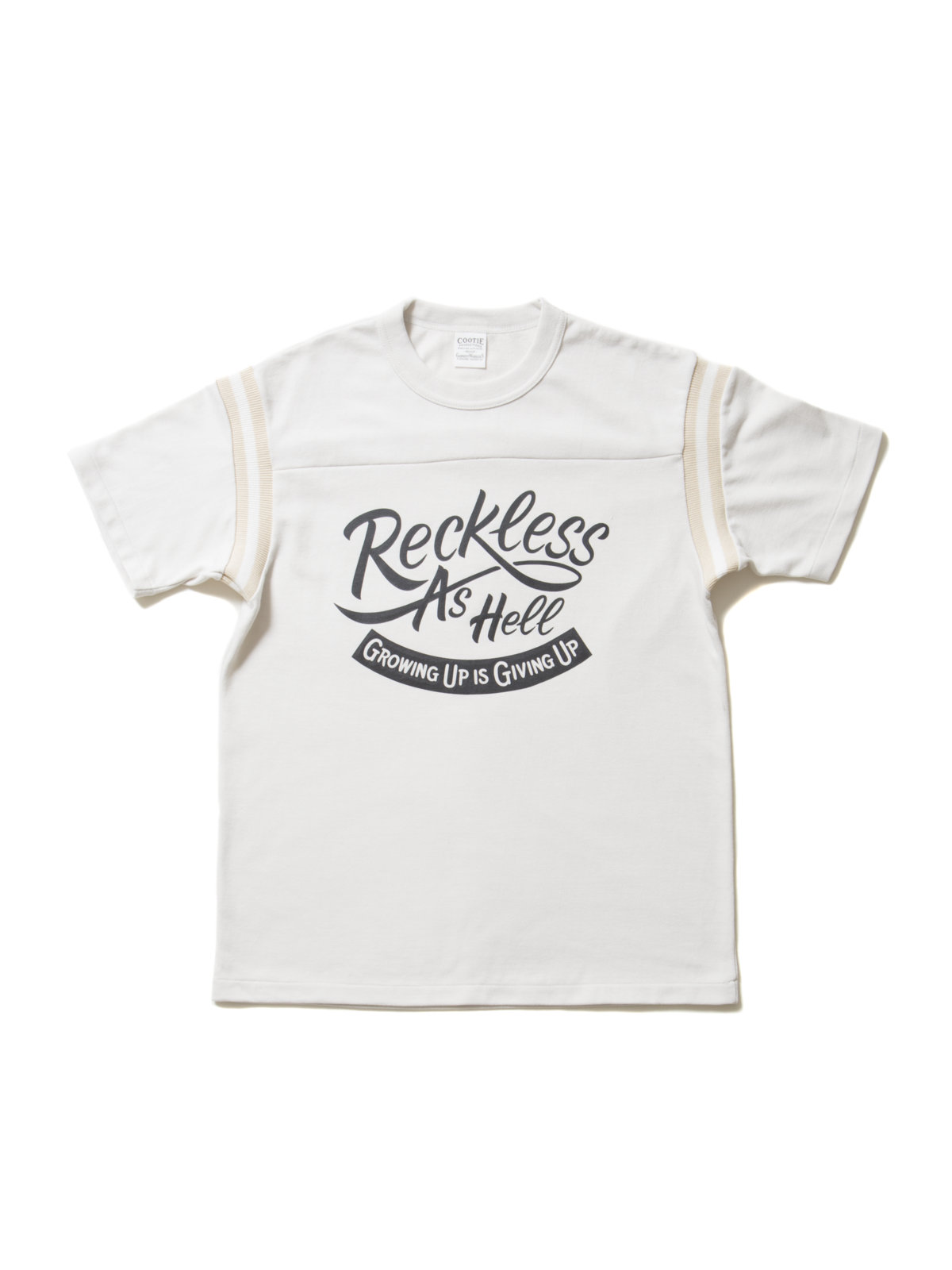 Seed Stitich S/S Football Tee-Ivory-