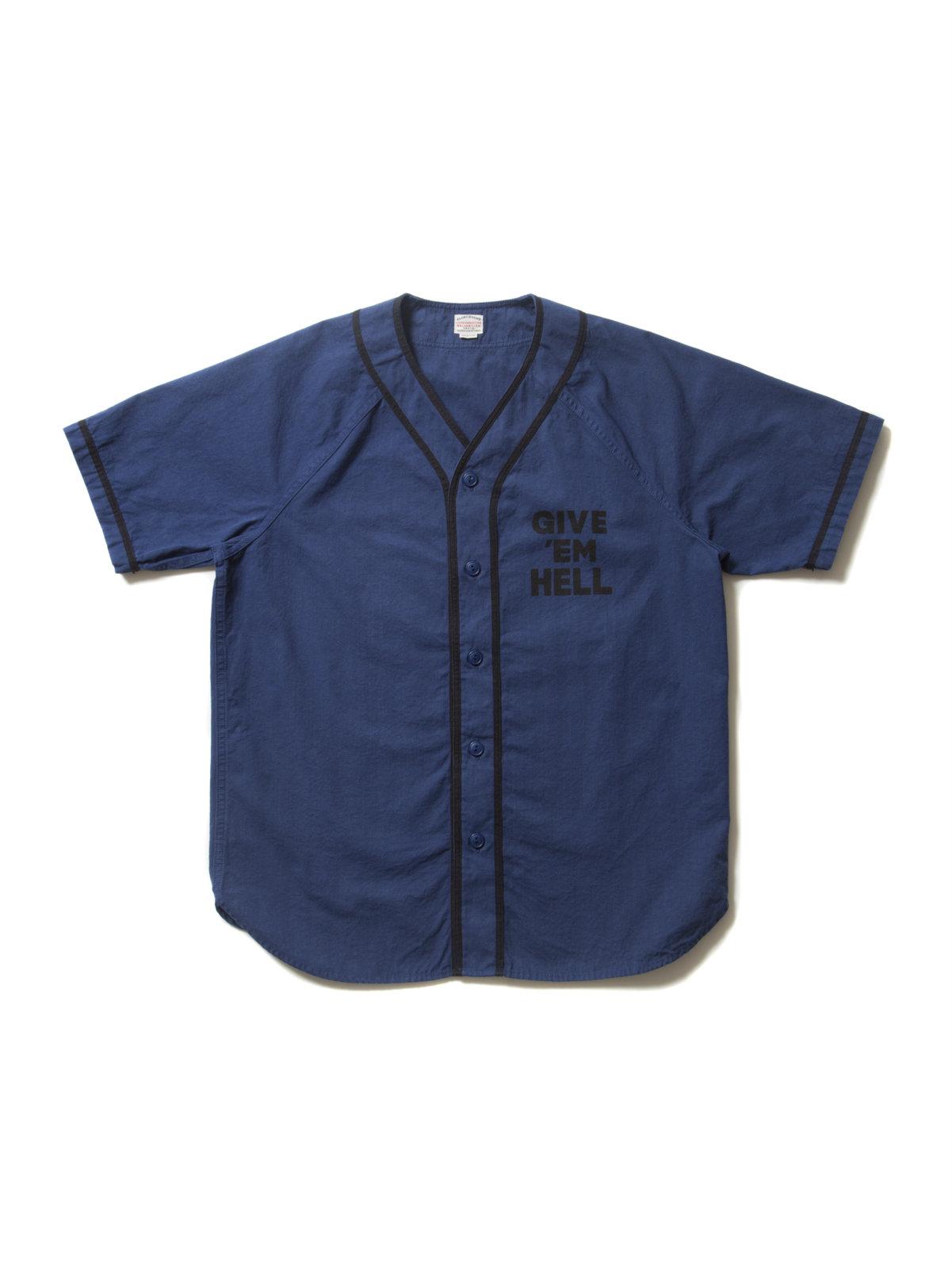 Ballgame Shirt-Blue-