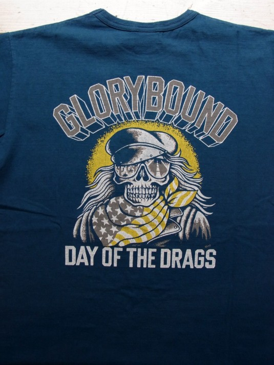 Vintage Print S/S Tee (DAY OF THE DRAGS)