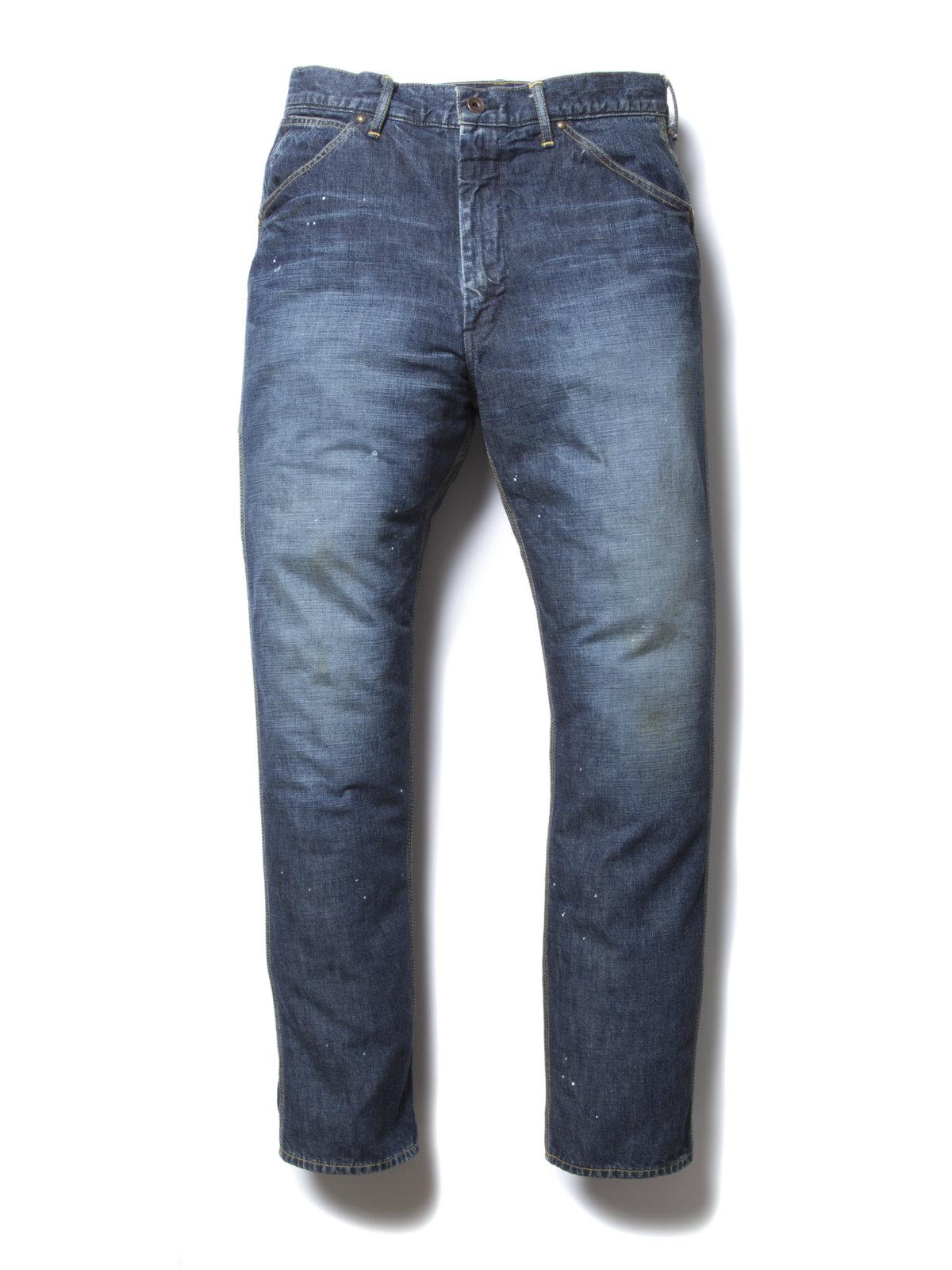 Junkman Painter Pants-Indigo-