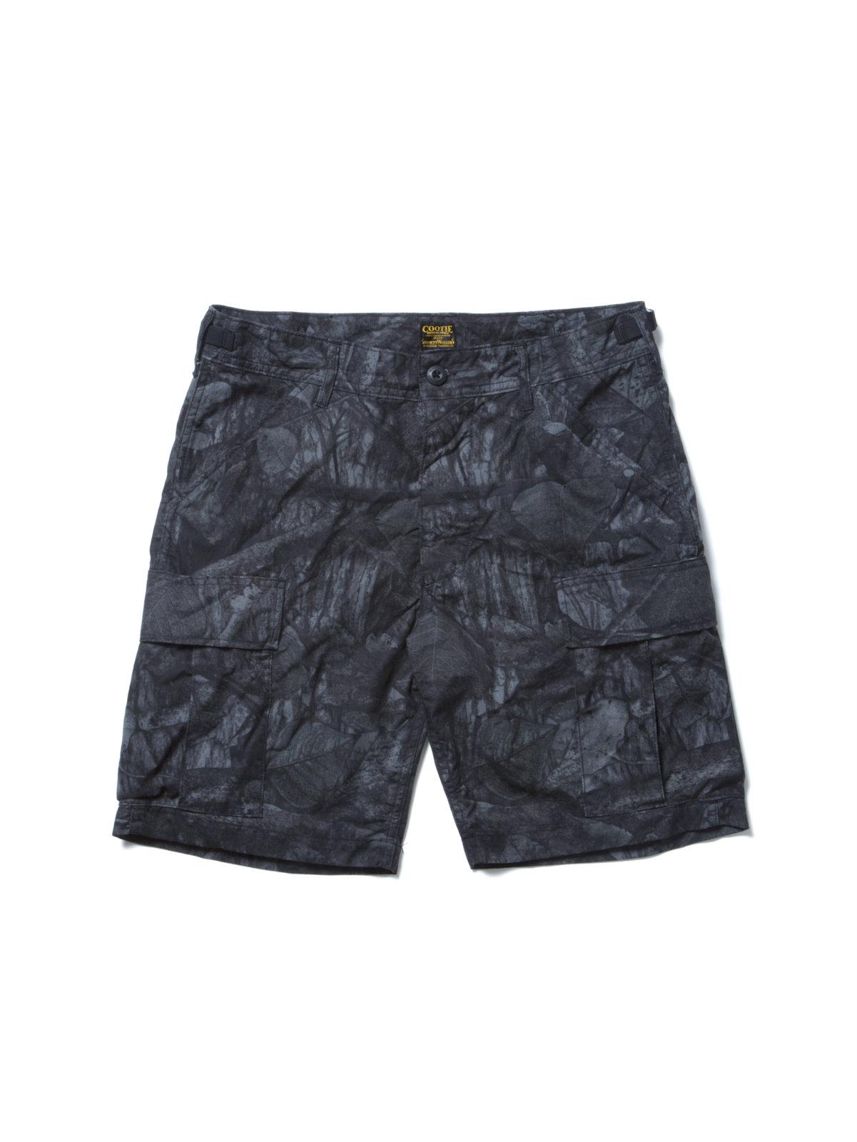 Killer Trap Cargo Shorts-Black-