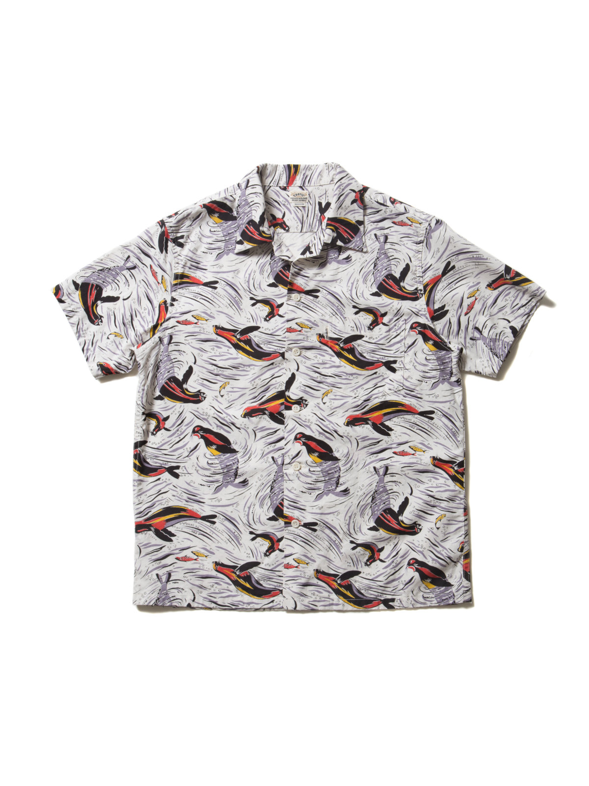 Seashore Shirt (Seal)