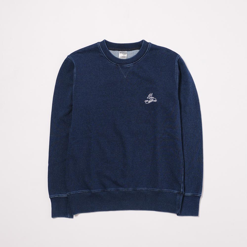 Denim Crewneck L/S Sweatshirt