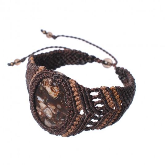 TurritellaAgate Bracelet