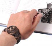 Turritella Agate Bracelet