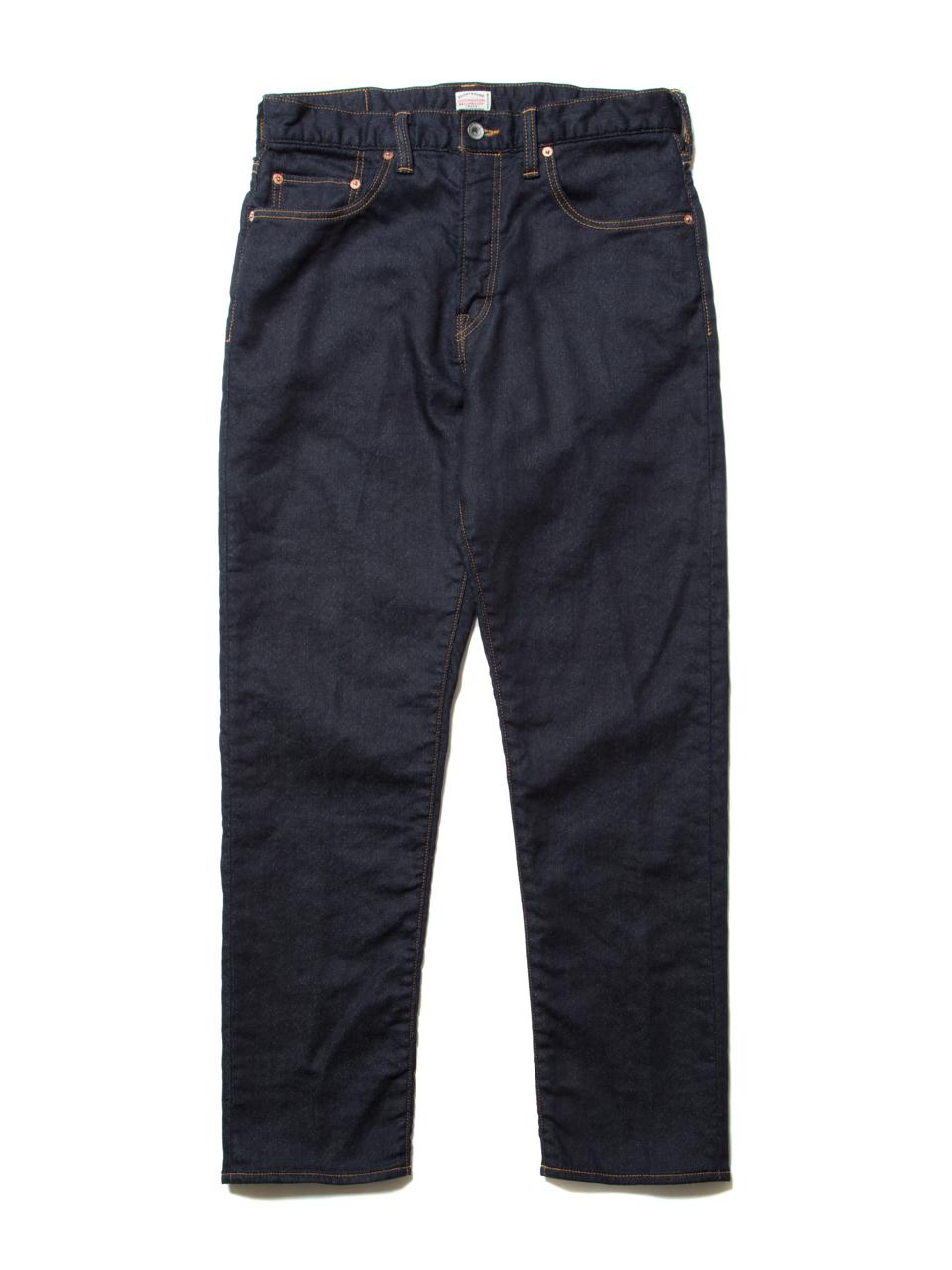 5 Pocket Loose Fit Knit Denim (1 Wash)