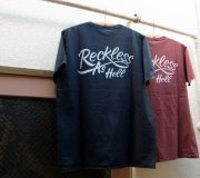 Vintage Print S/S Tee (RECKLESS AS HELL)